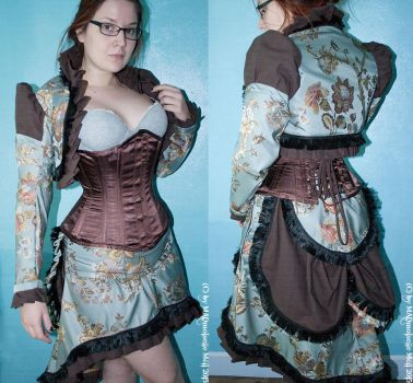 Romantic victorian inspired Steampunk Outfit by MADmoiselleMeli