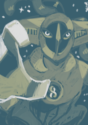 Quick limited palette deoxys by Dusclord-005