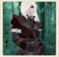 Second life Elf- WoW style by wingedrobyn