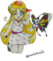 Minako and Beautifly