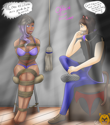 Official Talon Broom Closet (Commission) by Lady-of-Mud