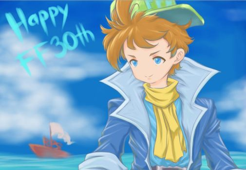 FFRK Happy FF30th by pirARTeking