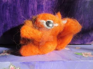 Needle-felted Squirrel