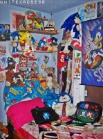 My Sonic Room~ by WhiteXRose96