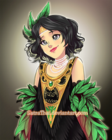 CotD - Pretty young woman by SatraThai