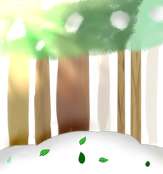 Background Commission by mlpower123