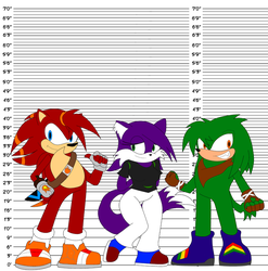Icee Characters Height Chart by SuperIcee