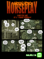 Apocalyptic Horseplay - CH1 Ep2 by Boredman