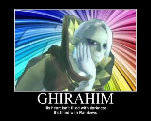Ghirahim Motivational Poster by angelsoflight
