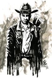 Walking Dead: Rick Grimes by RADMANRB