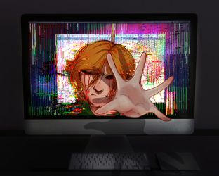 Ben Drowned by 7H47-0N3-N3RD