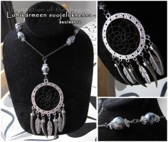 Protection of the dragon - necklace by SaQe