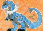 Shiny Tyrantrum by SilentDragon64