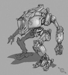 Industrial Mech by MeckanicalMind