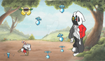 Hooded Battle ( 2nd phase ) by Ethen1255