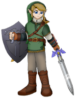The Paladin: Link of Ordon by Shadow-Aspect