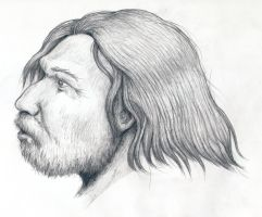 Neanderthal profile by Mihin89