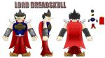 Dreadskull model sheet by DerekminyA