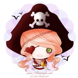Little Dollie Pirate by Nailyce