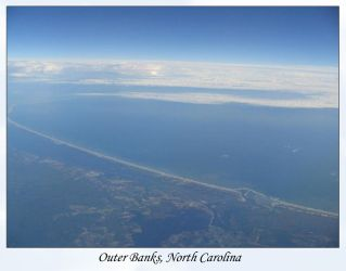 Aerial Outer Banks by noseeme