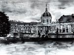 Paris in grey by Lyczka