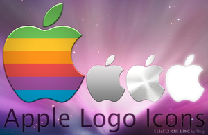 Apple Logo Icons by Thvg
