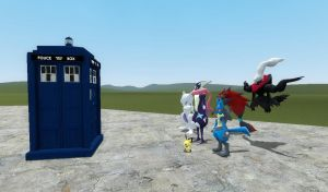 The tardis ride 2 by BluethornWolf