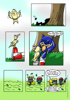 Sonic and the BirdStone chap1 P01 by Amandaxter