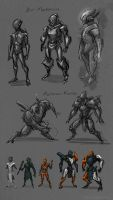 BIONICLE Commission WIP_2 by The-HT-Wacom-Man