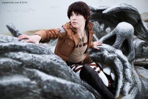 Attack on Titan: Eren Jaeger by Malindachan