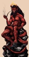Red God. by Lurelin