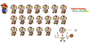 Captain Toad (Paper Mario Sticker Star Recut) by DerekminyA