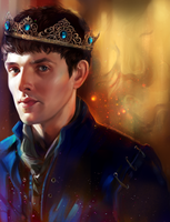 Prince Merlin by StarshipSorceress