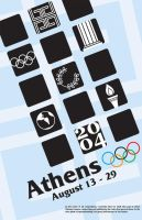 Athens 2004 Poster by siostra-rana