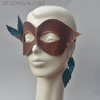 Dryad Mask by Beadmask