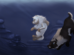 Diving 01 -Redo by magikwolf