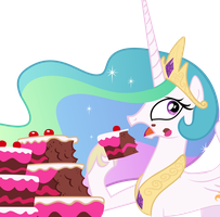 Cakelestia (Vector) by Etherium-Apex