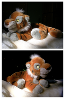Disney Shere Khan Floppy Plush by The-Toy-Chest