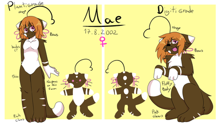 Mae Reference Sheet 2018 by sh1g3k0