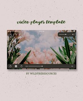 videoplayer template by wildfireresources by wildfireresources