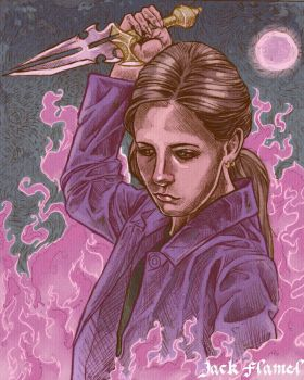 BUFFY THE VAMPIRE SLAYER by aquiles-soir