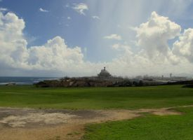 View from Old San Juan 4 by KealeS