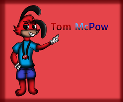 Tom Mcpow by GabbyWabbyTheCat