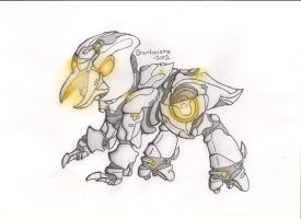 [HALO 4] Ponified Promethean Crawler by Brantonisme