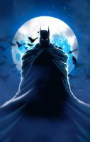 The Caped Crusader by SD-Swapnil395
