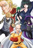 ONE-PUNCH MAN by ryssa-takesaki