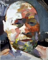 Self Portrait as Henry Miller 9-12 #2 by tombennett
