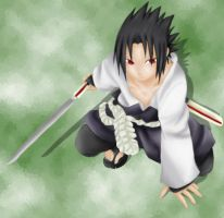 Sasuke by deviantmaniatic
