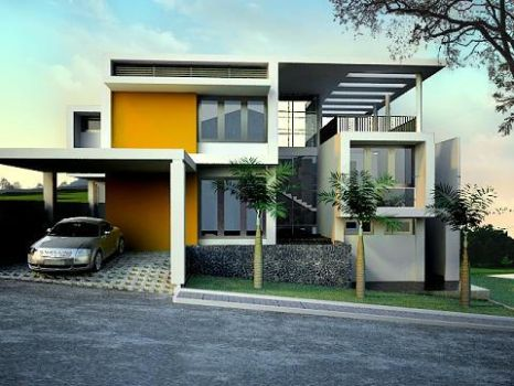 Private Residence at BSD by rindrasan
