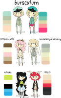 [palette adopts : CLOSED WOW] by sockjuice